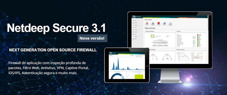 Lançado Netdeep Secure 3.1