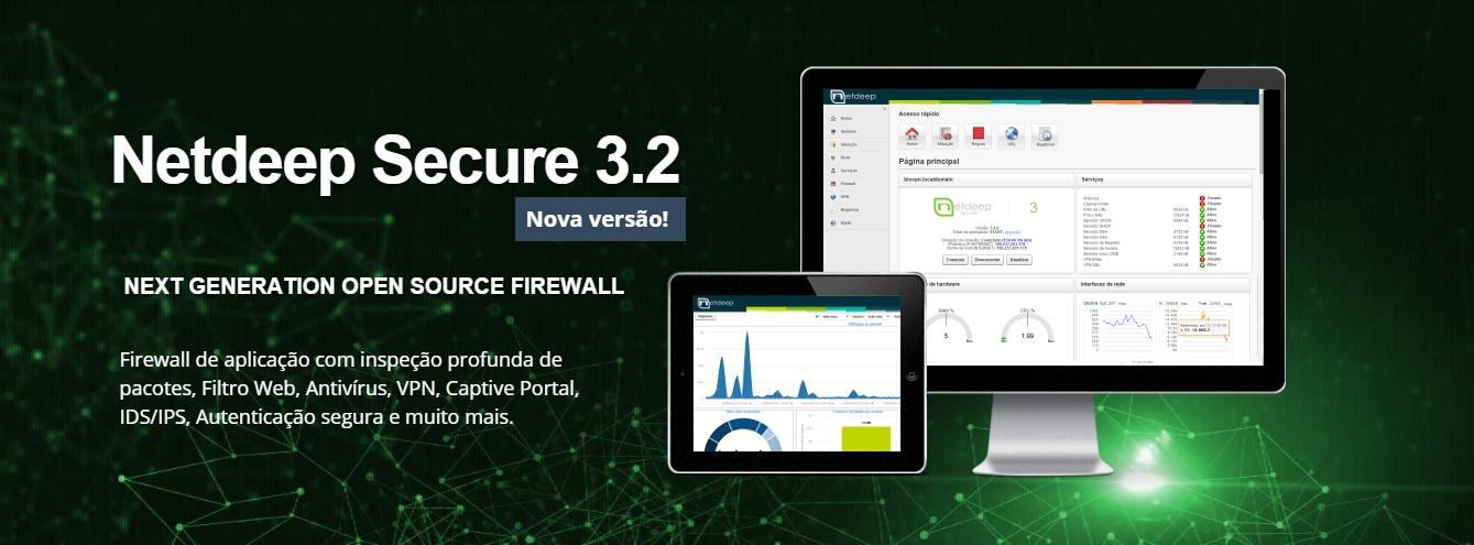 Lançado firewall Netdeep Secure 3.2