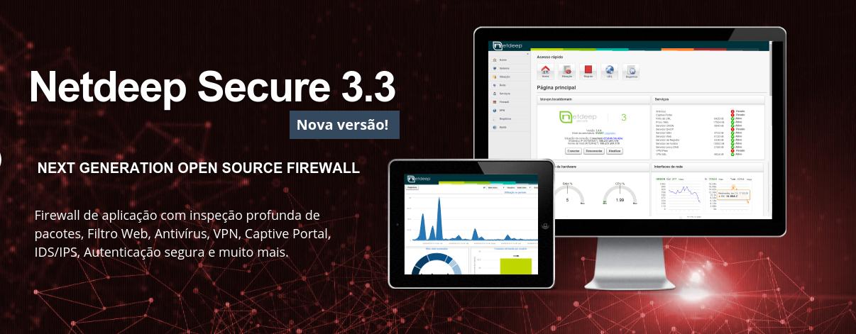 Lançado Netdeep Secure Firewall 3.3