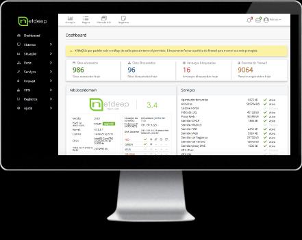 Lançado o Netdeep Secure Firewall 3.4!
