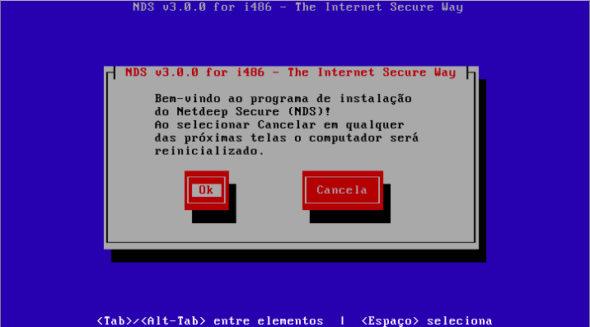 NETDEEP SECURE : Instalação do Netdeep Secure