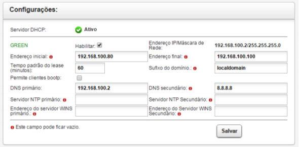 NETDEEP SECURE : SERVIDOR DHCP